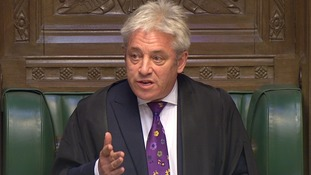 John Bercow calls for 'zero tolerance of sexual harassment and bullying' at Westminster