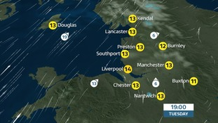 UK - Mostly dry, fairly cloudy for 'All Hallows Eve'