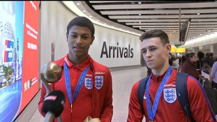Rhine Brewster and Phil Foden.