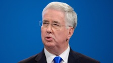 Michael Fallon has apologised for the incident in 2002.