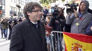Catalan independence: Carles Puigdemont will return to Spain if judicial process 'fair'