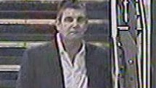 CCTV image of man linked to train assault