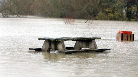 Floods in Oxfordshire in November
