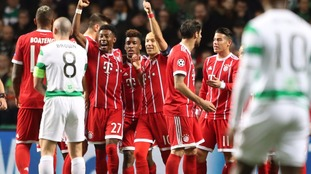 Bayern beat battling Celtic to knock them out of Champions League