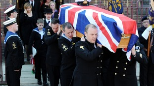 The inquest has heard that Lt Cdr Molyneux, 36, suffered a single gunshot wound to the top of his head