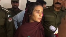 Aasia Bibi, 21, has been charged with murder after allegedly poisoning milk.