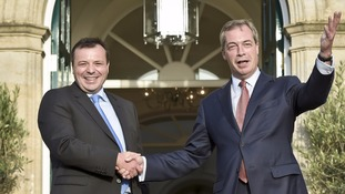 Former Ukip donor Arron Banks was a prominent figure in the Leave campaign alongside Nigel Farage.