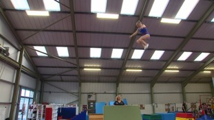 Somerset trampolinist bounces back after injury