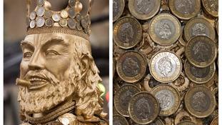 King Midas statue