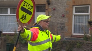 Lollipop lady can continue working thanks to mystery donor