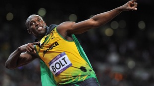Usain Bolt.