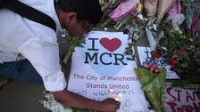 pic of manchester vigil