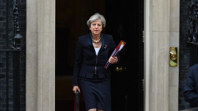 Theresa May thanked Michael Fallon for his service.