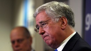 Sir Michael Fallon evicted by his past