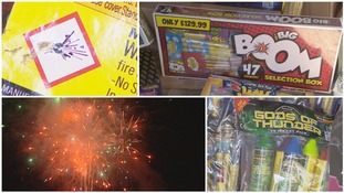 Bonfire Night: Crackdown on fireworks sold on social media sites
