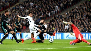 A Dele Alli double saw Spurs put Real Madrid to the sword in an emphatic 3-1 in front of a packed out Wembley stadium.