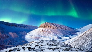 The Aurora sighted in Norway