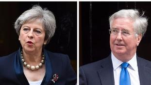 May facing Cabinet reshuffle after Fallon quits