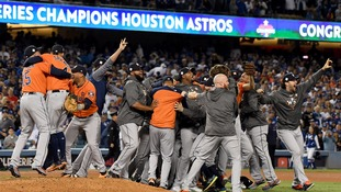Houston Astros win first World Series weeks after Hurricane Harvey