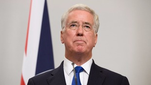Sir Michael Fallon stepped down as Defence Secretary on Wednesday night.