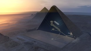 Secret chamber found inside Great Pyramid in most significant discovery since the 19th century