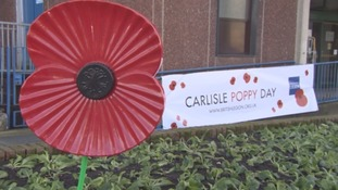 More than 100 soldiers and volunteers join forces for Carlisle Poppy Day