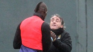 Mancini brawls with Balotelli
