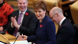 Sturgeon's stresses her plans for 'modest' tax rises for Scots