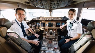 BA father and daughter pilot team fly together for the final time