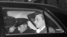 Ian Brady, while in police custody prior to his court appearance for the Moors Murders.