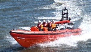 Two men rescued from River Wear after fishing boat theft