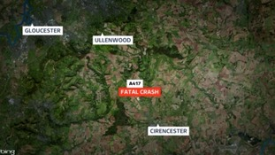 Two people have died after crash in Gloucestershire