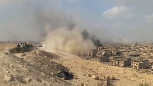 Syrian army 'has liberated city of Deir al-Zour from Islamic State'