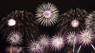 There are many organised fireworks displays around the Anglia region over the weekend