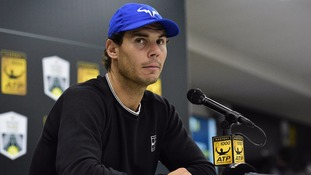 Rafael Nadal pulls out of Paris Masters due to knee problems