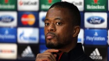 UEFA earlier confirmed it had opened disciplinary proceedings against Evra