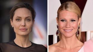 Angelina Jolie and Gwyneth Paltrow.