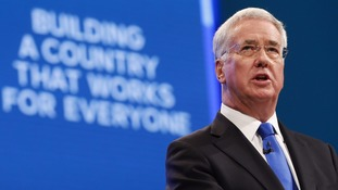 Michael Fallon resigned as defence secretary after admitting his behaviour had 'fallen below' expected standards
