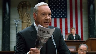 The production of House of Cards has also been suspended.
