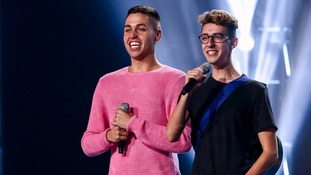 Jack and Joel on The X Factor