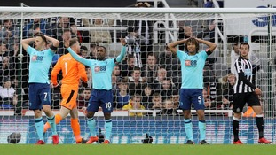 Premier League: Newcastle 0-1 Bournemouth - late Cook goal gives Cherries win