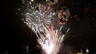 People up and down the country attended firework displays on Saturday night.