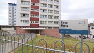 Plymouth tower block evacuated for second time in a week