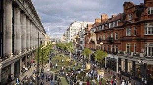 Plans to pedestrianise part of Oxford Street have been published.