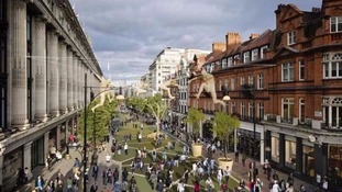 Plans to part-pedestrianise Oxford Street unveiled