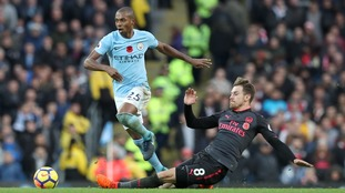 Fernandinho believes Man City's 3-1 victory over Arsenal could prove a key one in the Premier League title race