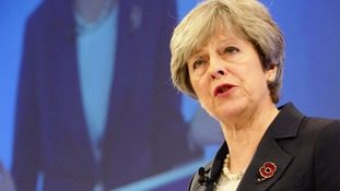 May urges business leaders to prepare for post-Brexit  by investing more in research