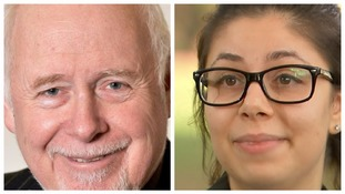 Kelvin Hopkins and Ava Etemadzadeh