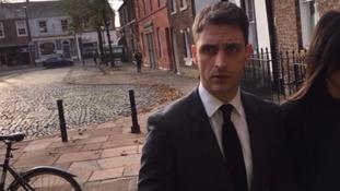 Peter Morrison has pleaded not guilty