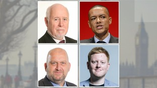 Kelvin Hopkins, Clive Lewis, Carl Sargeant, and Jared O'Mara.